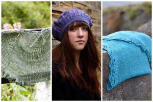 Left to right: Georgian Heights by Carol Feller, Sophora by WoollyWormhead and Fljort by Gillian Harkness