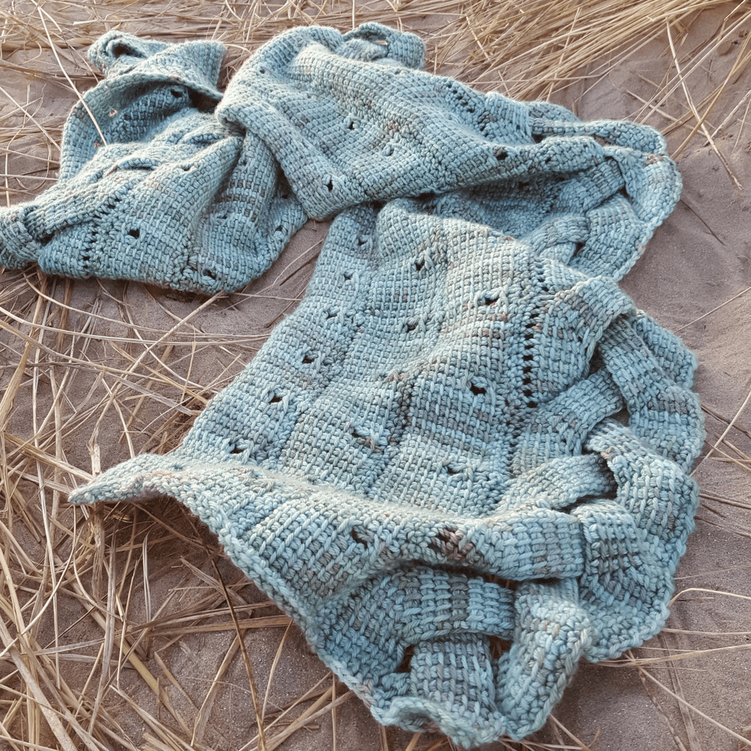 Macha by aoibhe Ni in hedgehog fibers DK by cottage Notebook Nadia Seaver