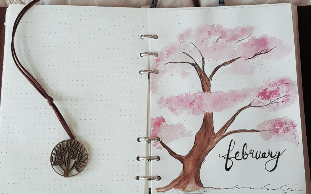 Craft | February Planner Set Up
