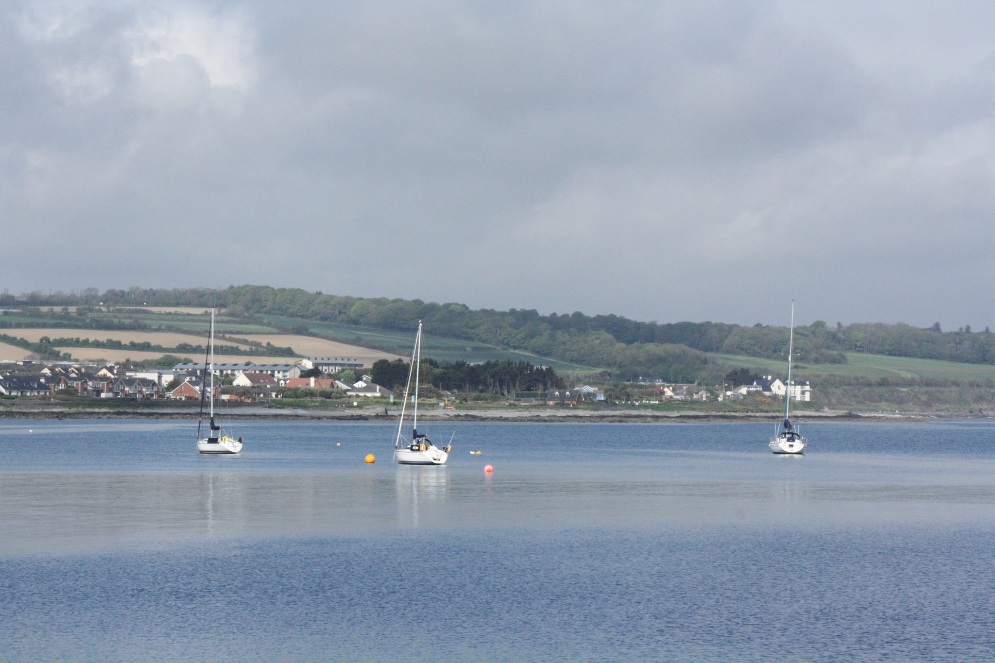 A View of Skerries Harbour by J. Seaver