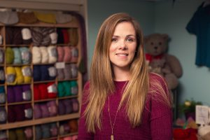 Jennifer Sisk. The face behind Townhouse Yarns