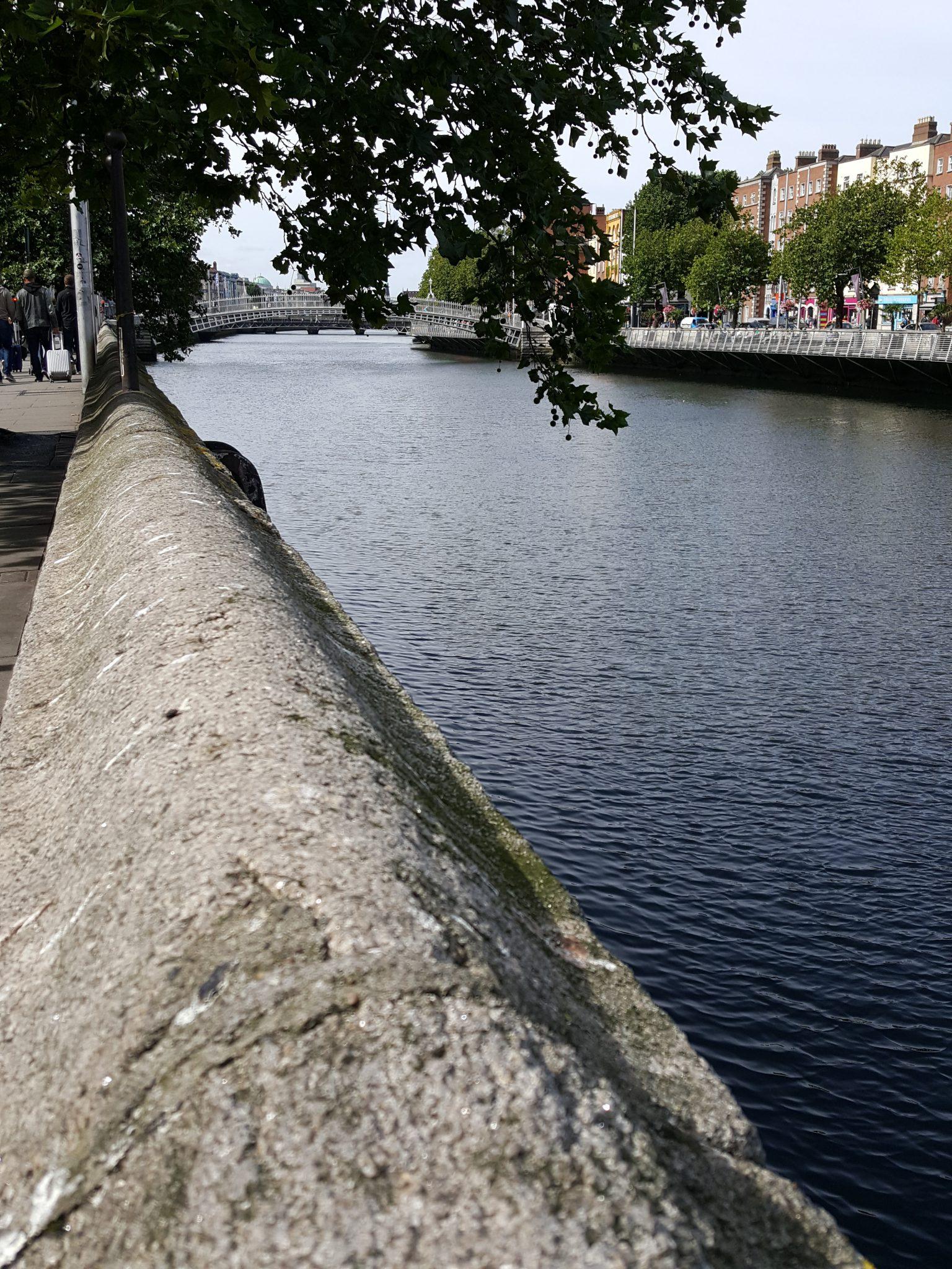Dublin City Center on a rare quiet September morning.