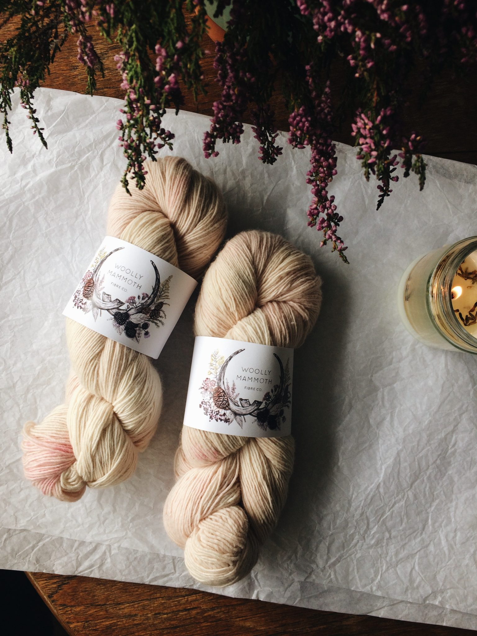 The Woolly Mammoth Fibre Co. on the Cottage Notebook