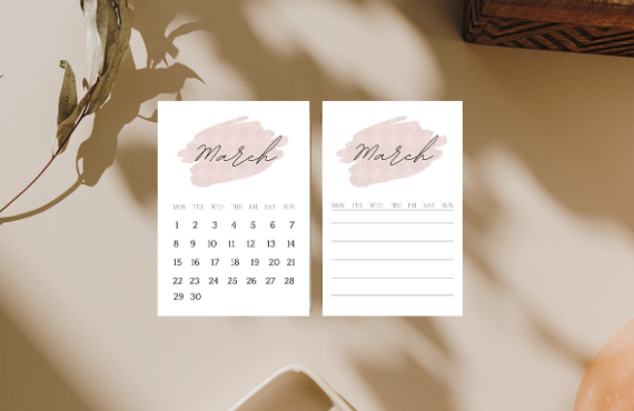 March Planner Printables – Perfect for Your Planner, Bujo or Journals.